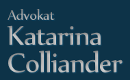 Advokat Katarina Colliander